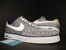 online store 2fbb0 05014 2014 NIKE AIR FORCE 1 AC PREMIUM QS ANCHORS NAVY BLUE WHITE GREY 656523-400