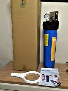 Express Water Whole House 1 Stage Home Water Filtration Filter System w/ Gauge