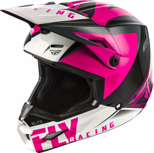 Fly Racing MX Motocross Elite Vigilant Helmet X-Large XL Gloss Pink//Black