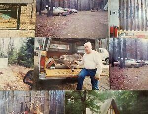 Hunting-Camp-Deer-Guns-Cabin-Buzzard-Swamp-1970-039-s-Photos-Pennsylvania-P1D
