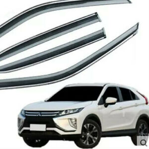 WINDOW-VISORS-for-Mitsubishi-Eclipse-Cross-DEFLECTOR-RAIN-GUARD-VENT-SHADE