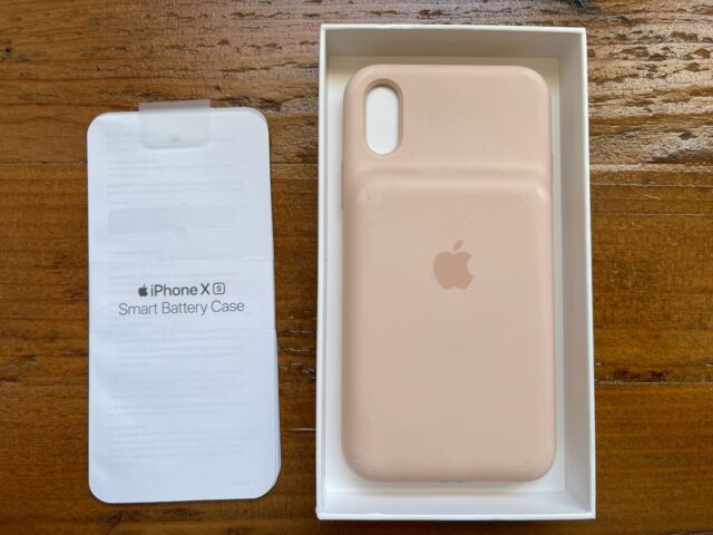 Apple Smart Battery Case for iPhone XS - Pink Sand