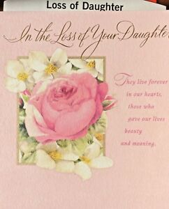 Hallmark daughter sympathy cards loss of daughter sympathy 12 image is loading hallmark daughter sympathy cards loss of daughter sympathy altavistaventures Images