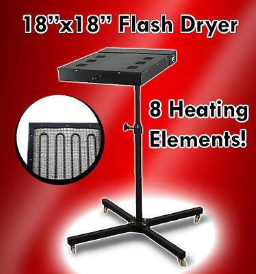 18x18 Flash Dryer Silkscreen T-shirt Screen Printing Curing