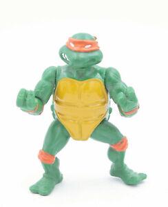 Vintage-1988-Michelangelo-Teenage-Mutant-Ninja-Turtles-action-figure-Playmate-Ninja-Turtles-aucun