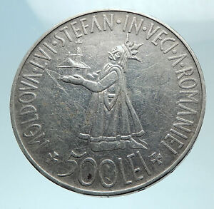 1941-ROMANIA-Michael-I-Romanian-Lady-amp-Bird-Antique-Genuine-Silver-Coin-i78786