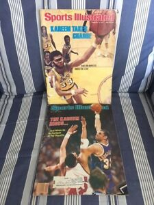 RARE-VINTAGE-KAREEM-ABDUL-JABBAR-SPORTS-ILLUSTRATED-SPORT-MAGAZINE-69-77-83