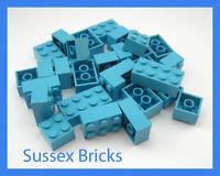 Lego - Medium Blue Bricks 2x2 (3003) 2x3 (3002) 2x4 (3001) - New Pieces