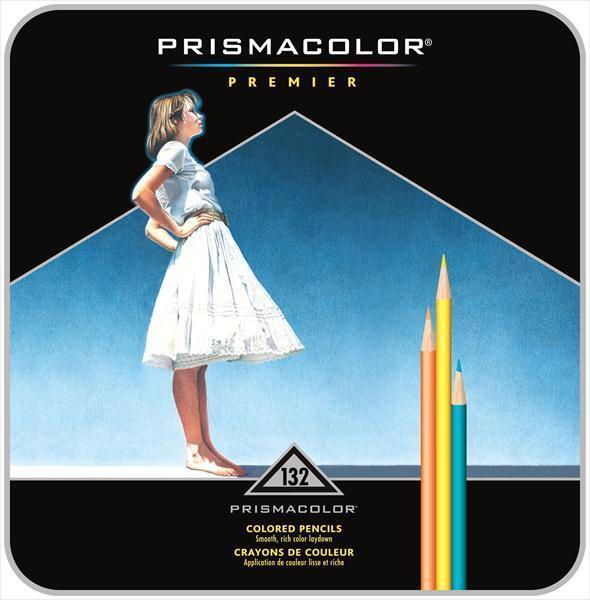 Prismacolor Premier Soft Core Colored Pencils 132 Pieces Set