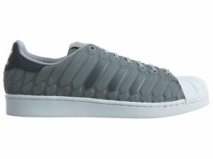 db334f8f5 ... closeout image is loading adidas superstar xeno mens d69367 onix grey  reflective 92d39 74195