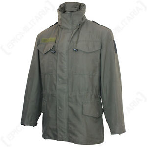 ORIGINAL AUSTRIAN ARMY M65 PARKA - Genuine Military Surplus Coat ...