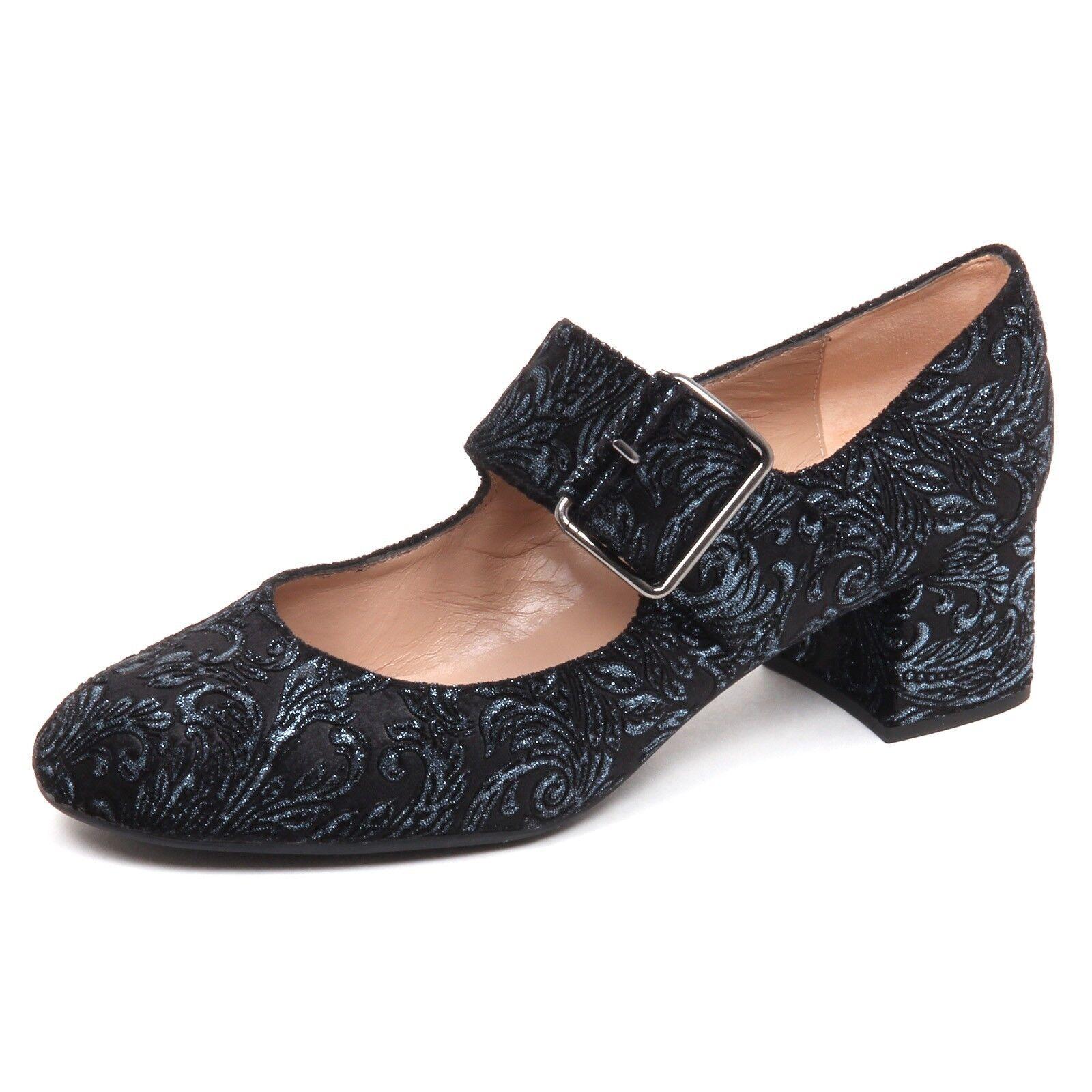 E6466 Escote mujer Terciopelo UNISA UNISA UNISA zapatos Mujer Zapato Negro azul  para mayoristas