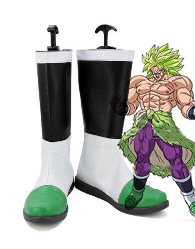Hot!DragonBall Z Super Saiyan Broli Cosplay Boots Shoes Custom Made  Y.1092