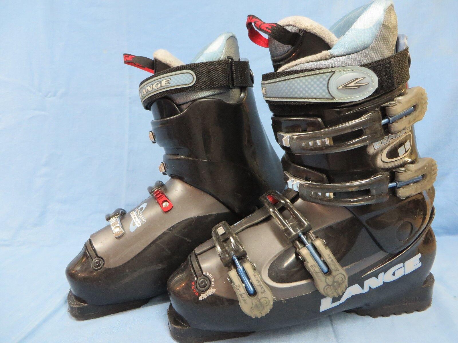 Lange Concept 65 damen Ski Stiefel 26.0 26.5 Used Used Used eac413
