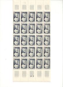 Timbres-Postes-France-neufs-Emission-CROIX-ROUGE-Alex-BRONGNART-de-1950