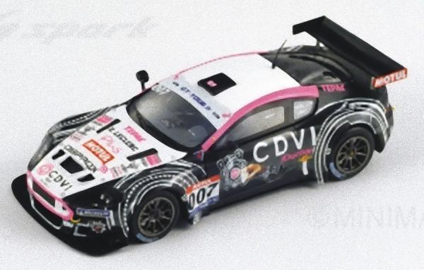 Spark - ASTON MARTIN DBR9 Team LMP Motorsport n 007 GT Tour 2011 Lamic - Gabillo