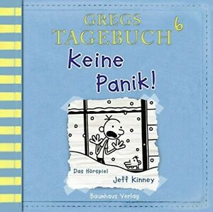 JEFF-KINNEY-GREGS-TAGEBUCH-6-KEINE-PANIK-CD-NEW
