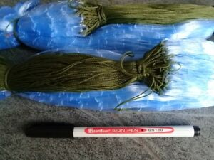 GILL-NETS-2-nets-100-metres-4cm-mesh-size-2-5-ft-depth-FREE-POST