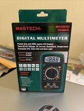Tekpower Mastech Digital Acdc Automanual Range Digital Multimeter Meter