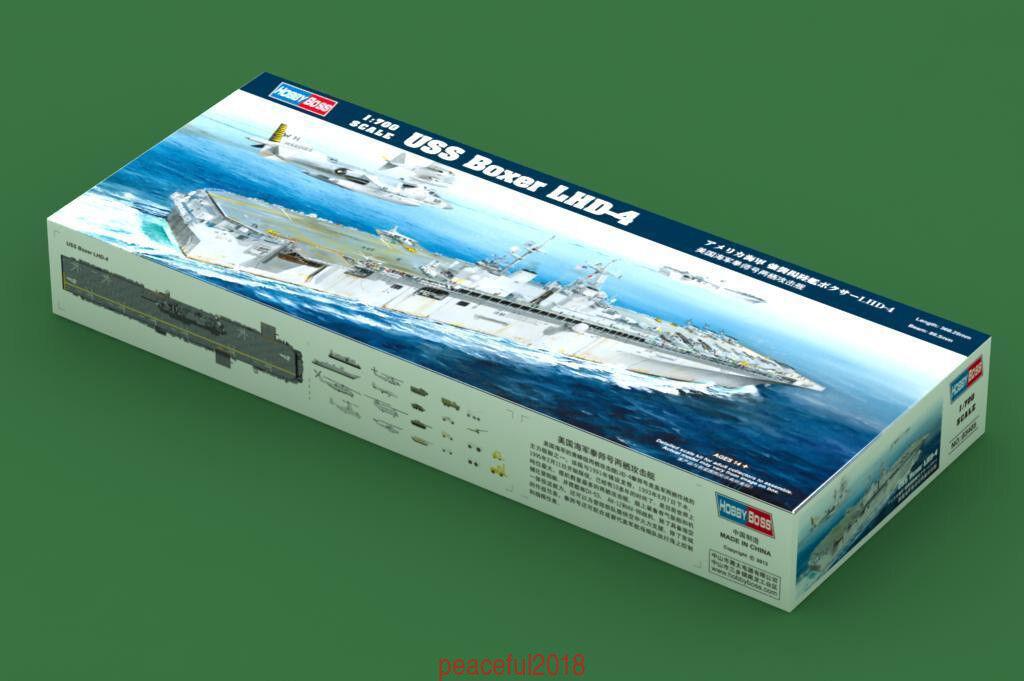 Hobbyboss 1 700 83405  Scale USS Boxer LHD-4 Model Kit