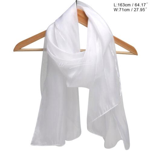 REGNO Unito le donne Setoso Iridescente Festa Di Nozze collo sciarpa sciarpe wrap Stola Scialle Morbido