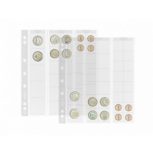 Coin Collection NUMIS MIX Pages Leuchtturm 323010 Collecting Coins Album Pages