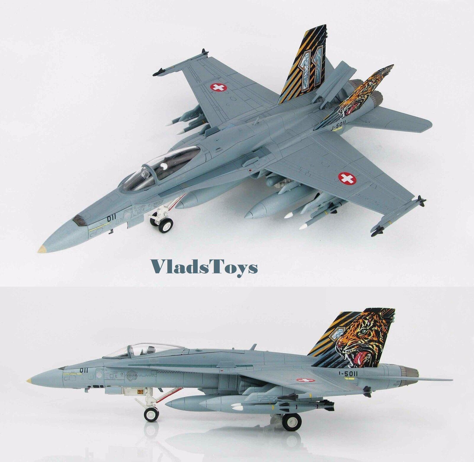 Hobby Master 1:72 F/A-18C Suizo AF Zaragoza ab España OTAN Tiger cumplir con HA3536