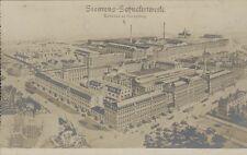 GERMANY SIEMENS SCHUCKERTWERKE TALLERES EN NUREMBERG REAL PHOTO