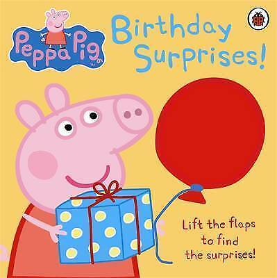 Peppa Pig: Birthday Surprises by Ladybird, Acceptable Used Book (Hardcover) FREE