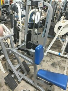 life fitness pro 1 seated row commercial weight stack gym