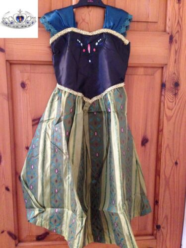 Principessa Disney Ispirato Frozen Elsa Anna Costume Dress Party UK 01