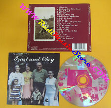CD BICYCLE FACE Trust And Obey 1992 Canada MOIST RECORDS  no lp mc dvd (CS61)