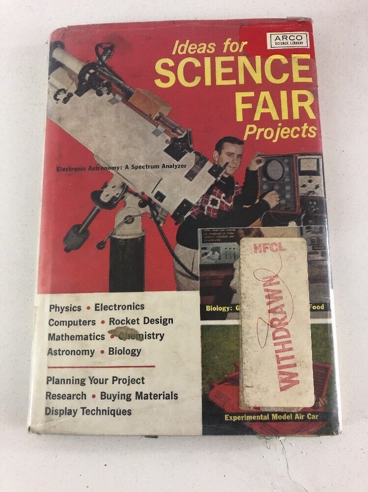 Ideas For Science Fair Projects : Benrey (1964, Arco Publishing) 3