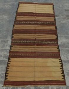 Rugs & Carpets R22 Vintage Afghan Nomadic Sumak Kilim/ Tribal Antique Kilim Runner 3'6 X 8'8 A Wide Selection Of Colours And Designs