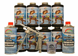 T-Rex Tintable spray-on truck Bed Liner, SMR-1000T-K8 Bedliner kit w/Free Gun