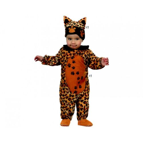 Details about  /CARNIVAL costume by leopard NEWBORN reads costume animals mask