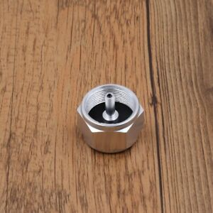 Camping Stove Propane Hose Connector Adapter Flat Gas Tank Cylinder Converter