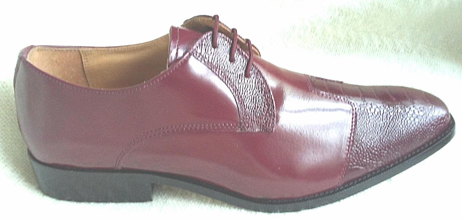 si affrettò a vedere NIB Liberty Liberty Liberty Dress scarpe Burgundy-LS1032 Dimensione11 All Leather upper,lining & sole  sport dello shopping online