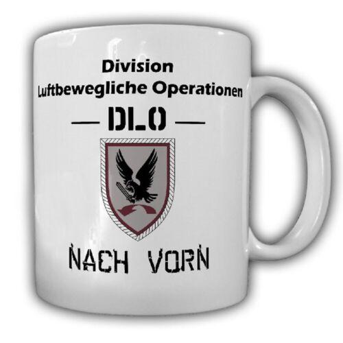 DLO Division Luftbewegliche Operationen Nach vorn BW Wappen Tasse Becher #18132