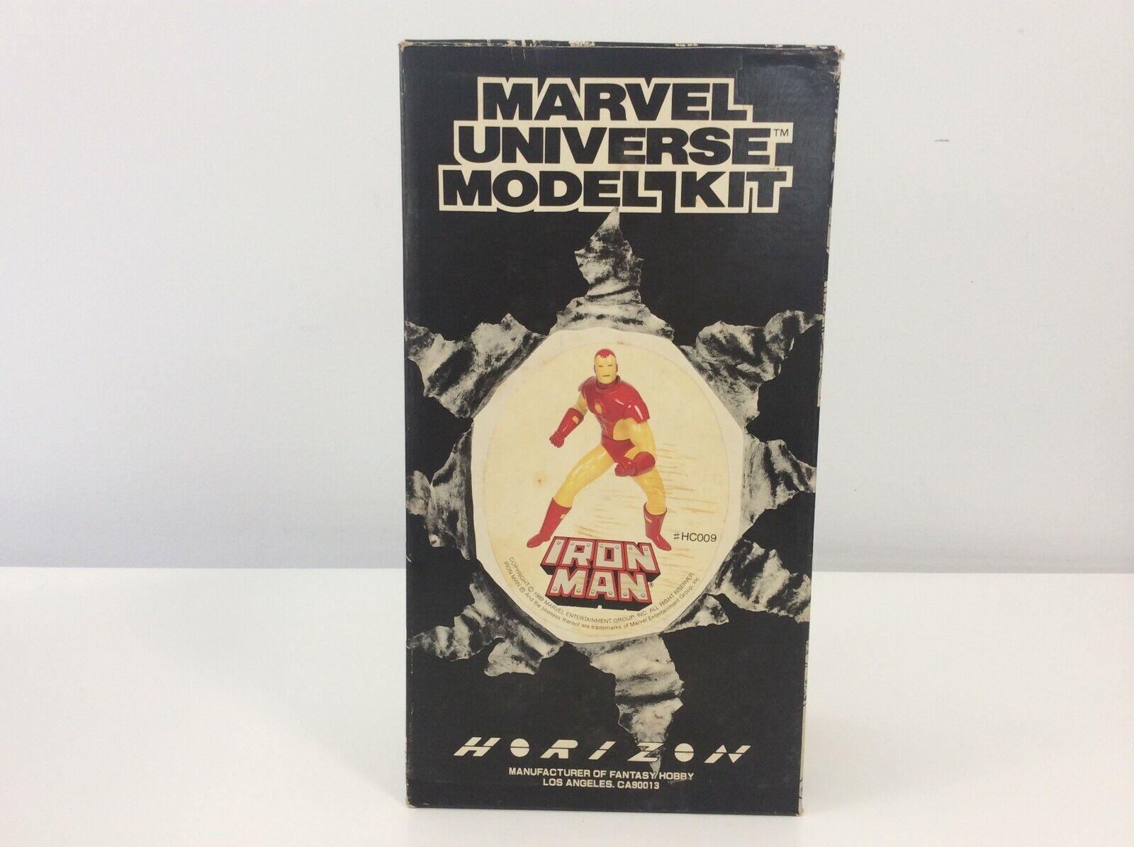 Vintage 1989 Marvel Universe Model Kit - Iron Man - MISB C009