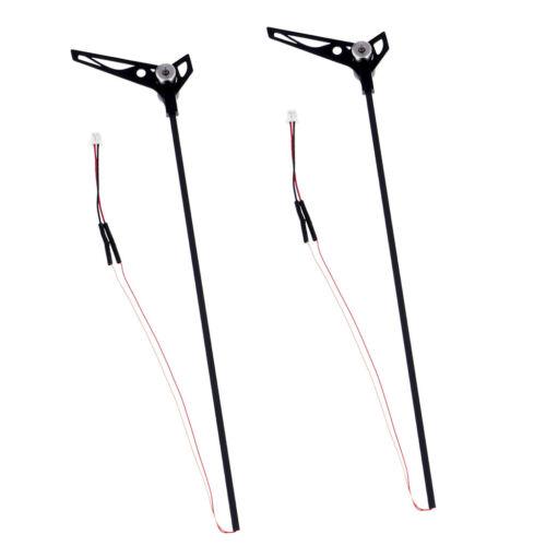 Moteur Kit pour WLtoys V911S V966 XK K100 Accessoire 2 xCarbon Fiber Tail Boom