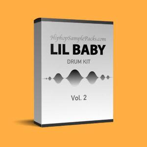 Details about Lil Baby DRUM KIT Loops & Samples Vol  2 Hip Hop SAMPLE PACK  TRAP Wav FL Studio