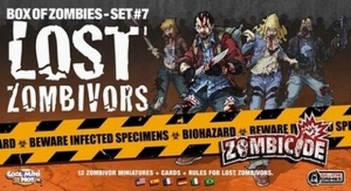 Eng//Ita Zombicide Box of Zombie Set #7: Lost Zombivors New 12 Zombivores