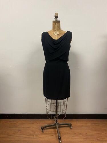 Vintage 1950's SUZY PERETTE Black Cocktail Dress,
