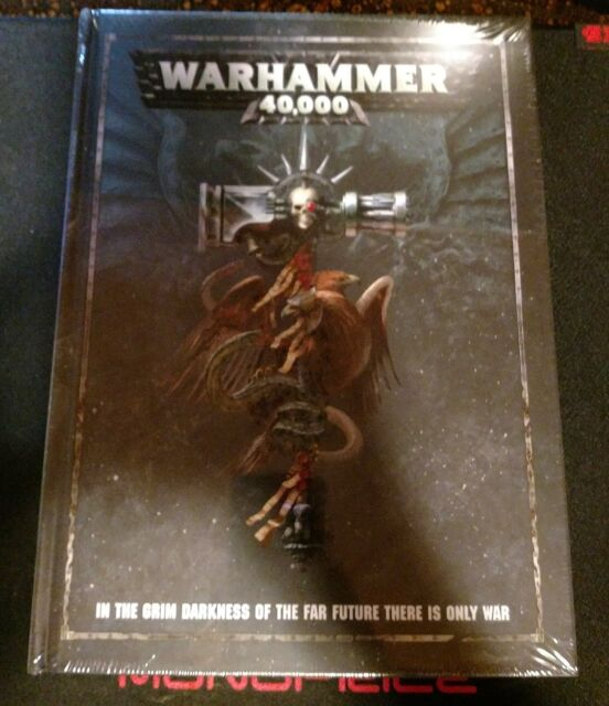 Warhammer 40k 8th Edition Hardcover Rulebook from Dark Imperium