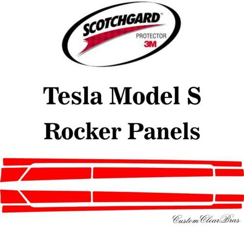 3M Scotchgard Paint Protection Film Pre-Cut 2017 2018 2019 2020 Tesla Model S