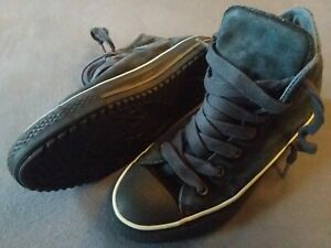 Details zu Converse Original All Star Chucks 39 Winter Boots Damen hoch gefüttert schwarz
