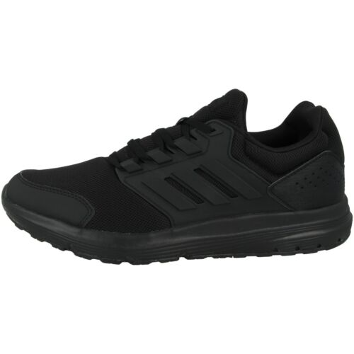 ADIDAS GALAXY 4 Men Scarpe Da Corsa Uomo Scarpe Sneaker Sportive BLACK WHITE ee7917