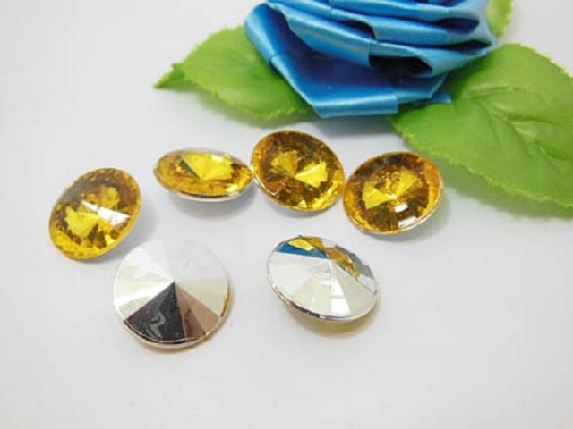 200 Diamond Confetti 18mm Wedding Party Table Scatter - Gold