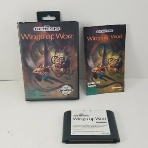 Sega-Genesis-Wings-of-Wor-Complete-CIB-Tested